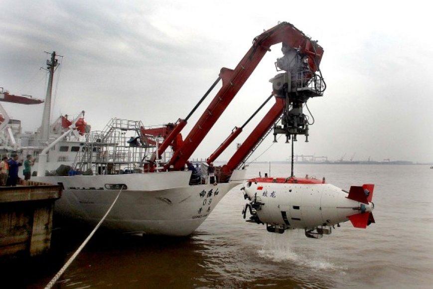 "Povandeninis laivas ""Jiaolong"""