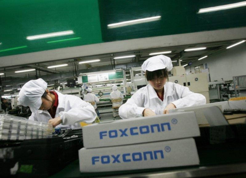 """""""Foxconn"""" darbuotojai"""