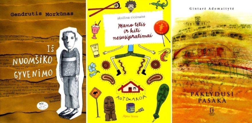 Metų knygos rinkimai paauglių knygų kategorijoje.