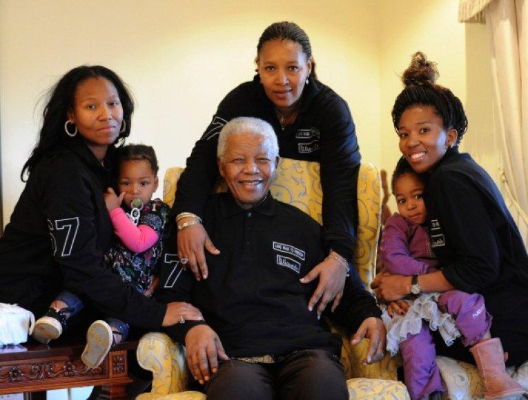 Nelsonas Mandela.