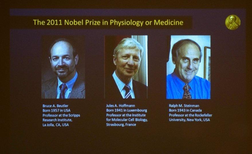 Nobelio medicinos premijos laimėtojai