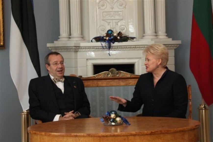 Tai pirmasis Estijos valstybės vadovo vizitas į Lietuvą po jo perrinkimo antrai kadencijai.