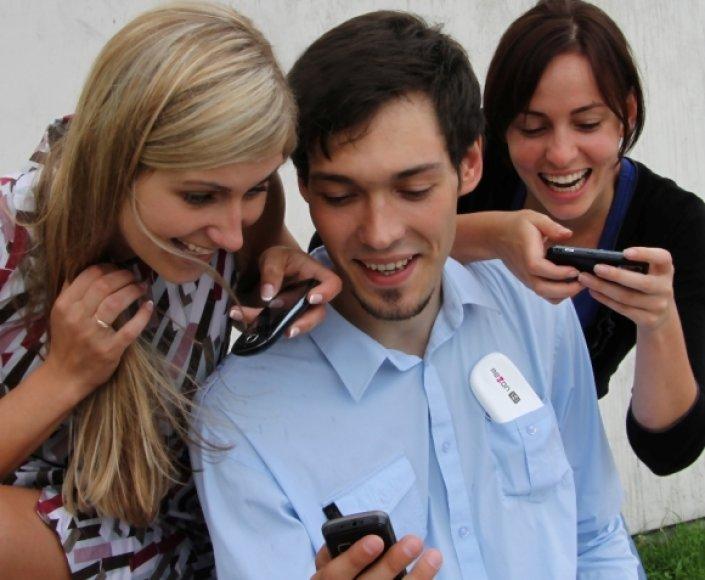 Telecentras ir toliau išlieka absoliučiu lyderiu, lyginant mobiliojo interneto paslaugų Lietuvos tinkluose naudojimą