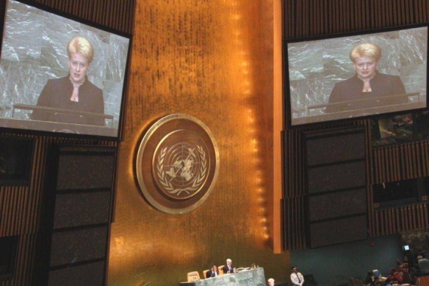 Dalia Grybauskaitė sakė kalbą