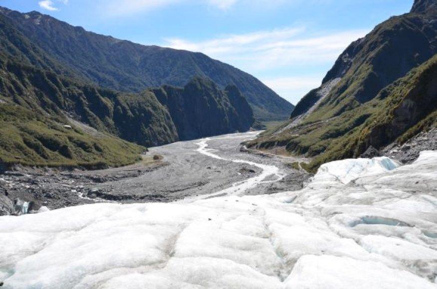 Ledo kelias į žemumas