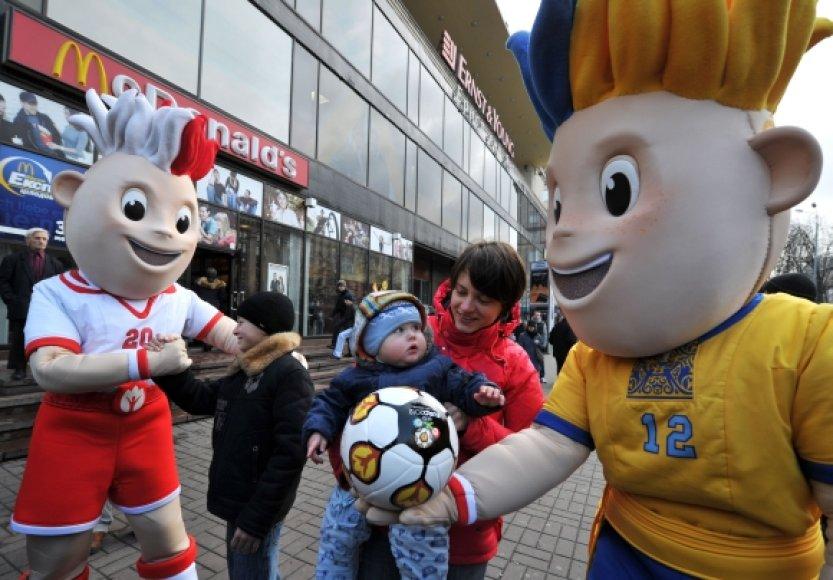 2012 m. Europos futbolo čempionato talismanai