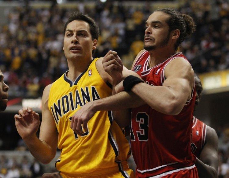"""Pacers"" – ""Bulls"" rungtynių akimirka"
