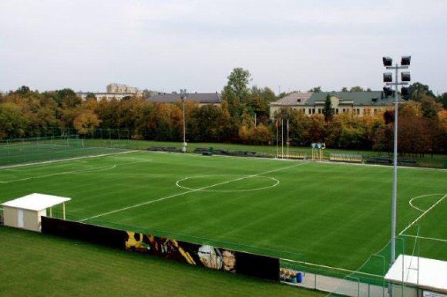Aikštė Nacionalinėje futbolo akademijoje Kaune