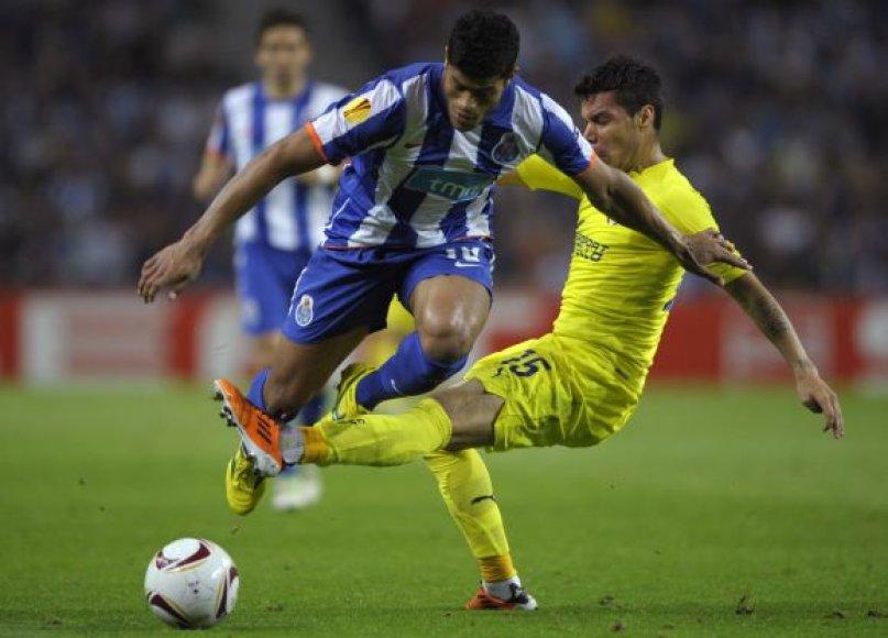 """""""Porto"""" puolėjo Hulko prasiveržimas"""