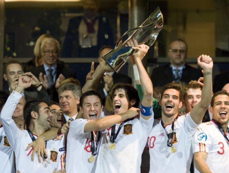 Jaunųjų ispanų triumfas