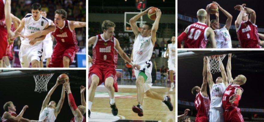 Pasaulio U-19 krepšinio čempionate: Lietuva prieš Rusiją