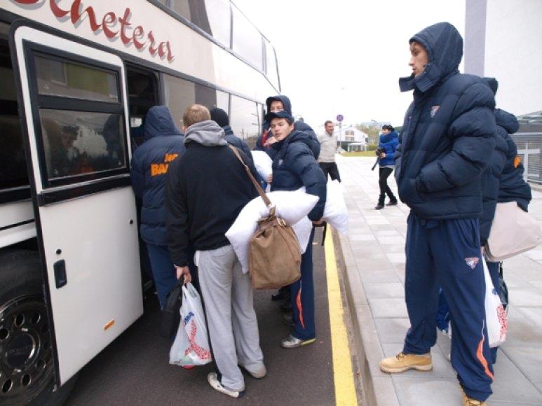 Prieš išvykstant į Rusiją