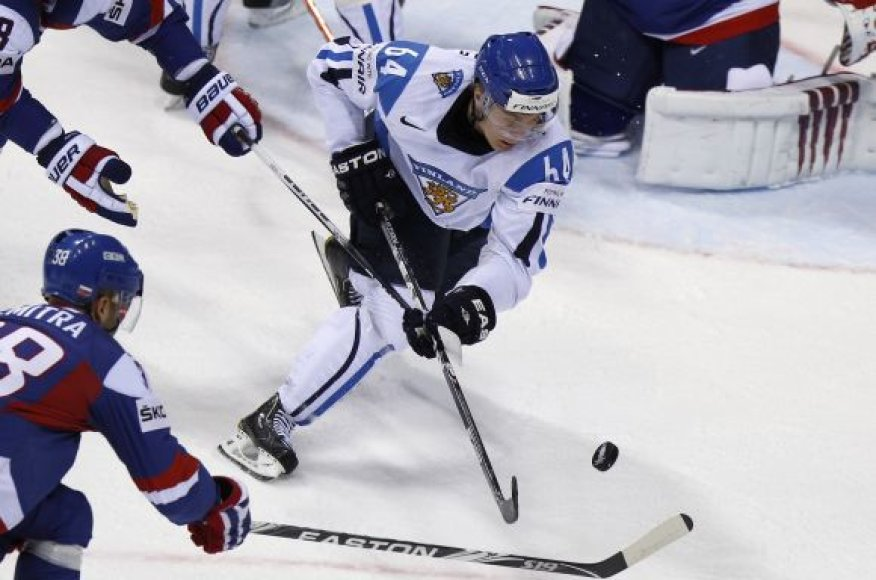 Suomijos rinktinės žaidėjas M.Granlundas