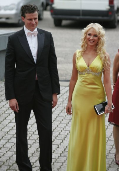 Natalija Bunkė ir verslininkas Danielius Bunkus