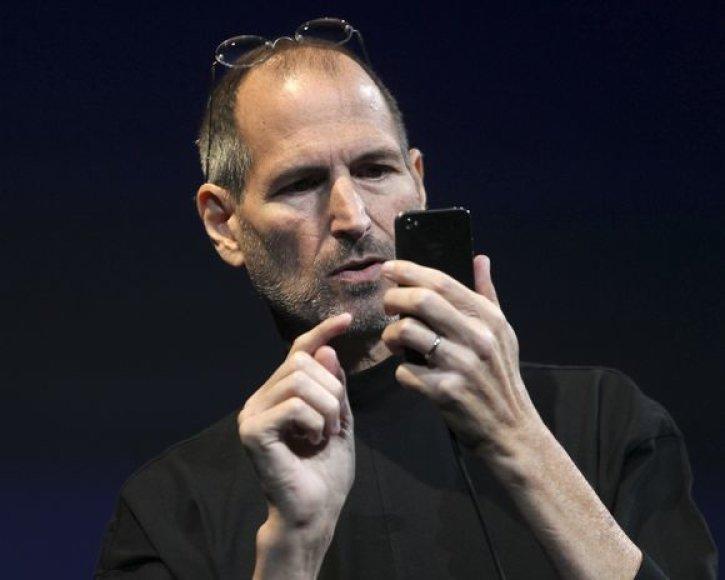 Steve'o Jobso gyvenimo akimirka