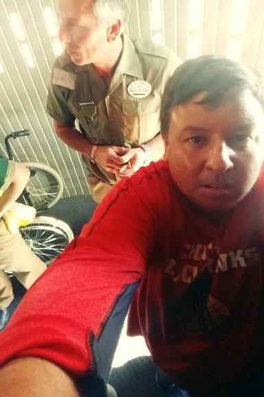 Asmeninio albumo nuotr./Fuerteventūroje savo bernvakarį atšventęs odontologas Paulius išgelbėjo lėktuve mirštantį žmogų