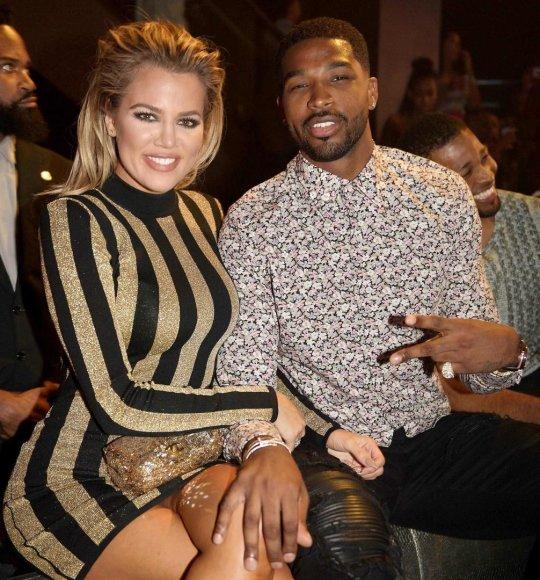 Vida Press nuotr./Khloe Kardashian ir Tristanas Thompsonas