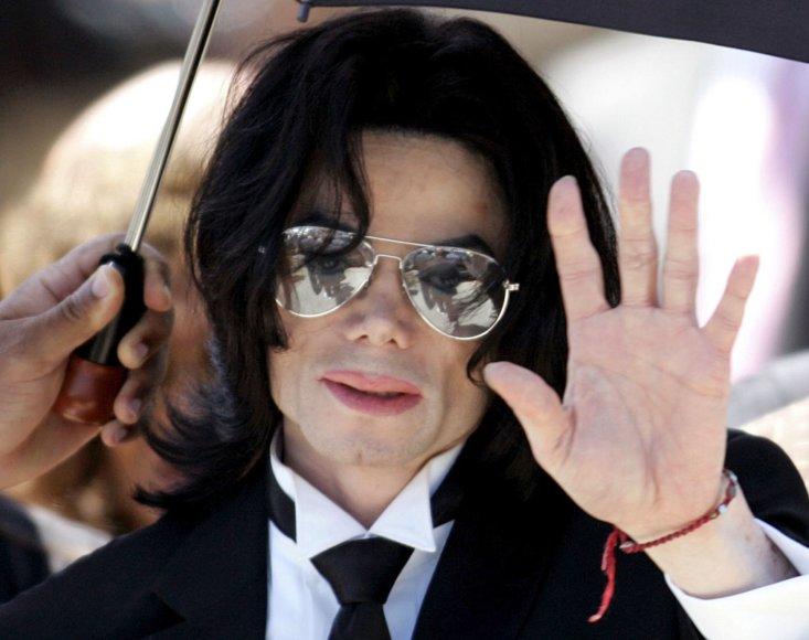 """Reuters""/""Scanpix"" nuotr./Michaelas Jacksonas (2005 m.)"