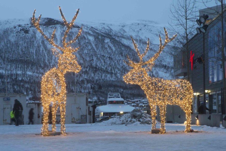 Vida Press nuotr./Trumsės miestas Norvegijoje
