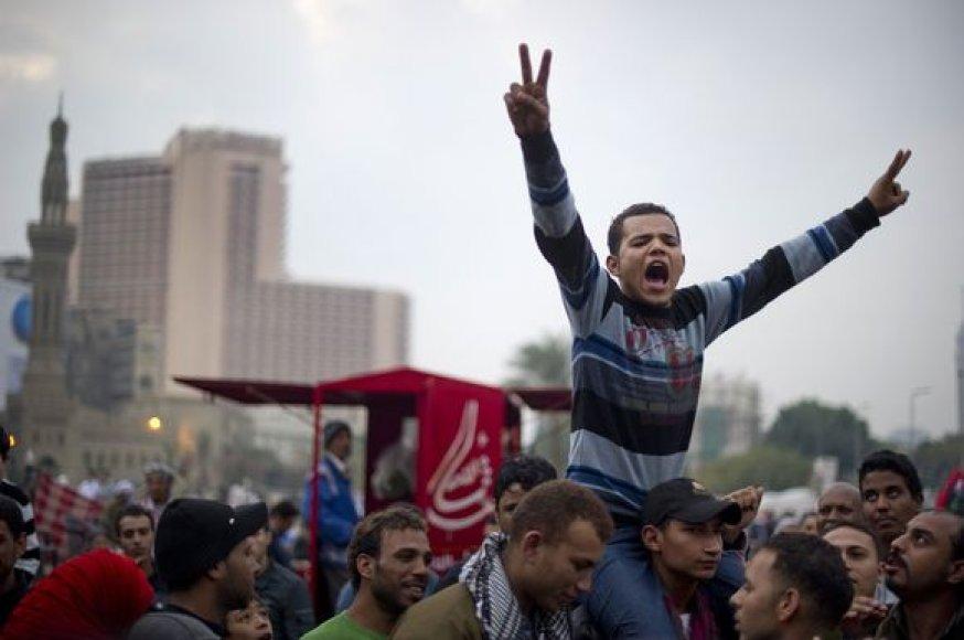 Pirmieji rinkimai Egipte po veterano prezidento Hosni Mubarako nuvertimo
