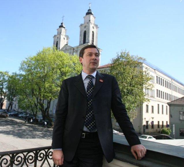 A.Zuokas Kaune rado dvimiesčio projekto šalininkų.