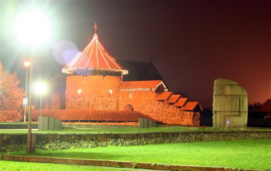 Architektai siūlo pagyvinti naktinį pilies vaizdą.