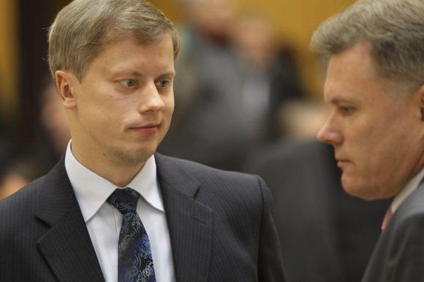 A.Kupčinskas nusitaikė į R.Mikaičio vietą