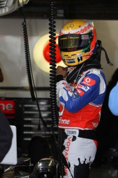 """Lewisas Hamiltonas/""""McLaren Mercedes"""""""