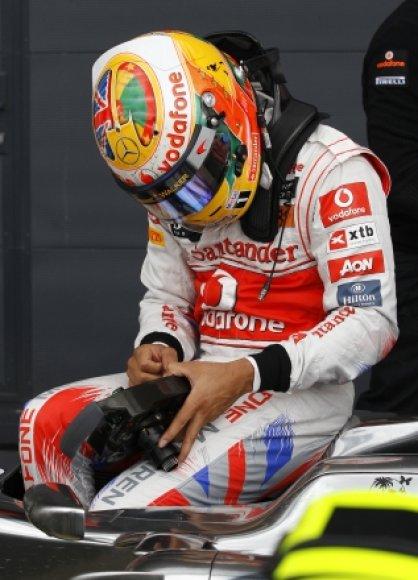 """Lewisas Hamiltonas, """"McLaren Mercedes"""""""