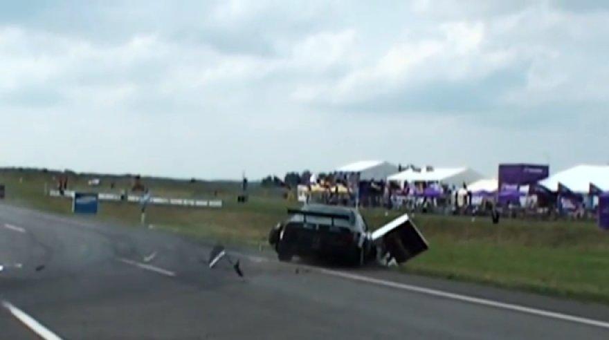 "Žilvino Daugėlos ""Mercedes-Benz W124"" avarija"