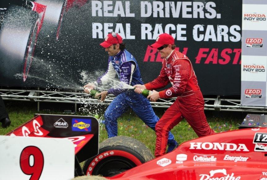 """""""IndyCar"""" lenktynės Mid-Ohajuje"""