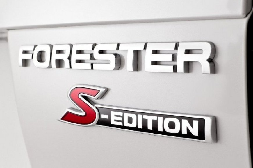 """Subaru Forester S-Edition"""