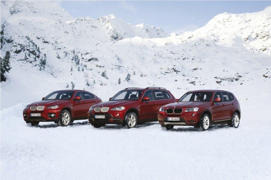 BMW X3, X5 ir X6