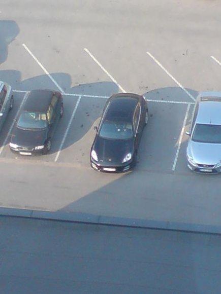 """Erdvę mėgstančio vairuotojo """"Porsche"""""""