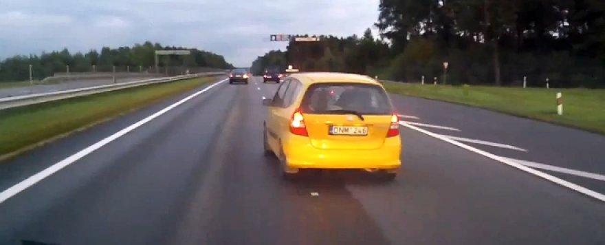 Neapsisprendžiantis vairuotojas