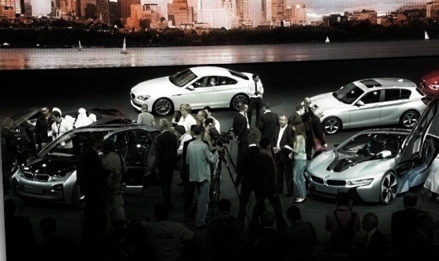 BMW stendas
