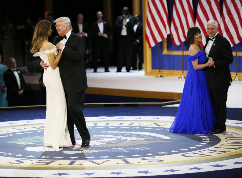 """""""Scanpix"""" nuotr./Donaldas Trumpas ir Melania Trump"""