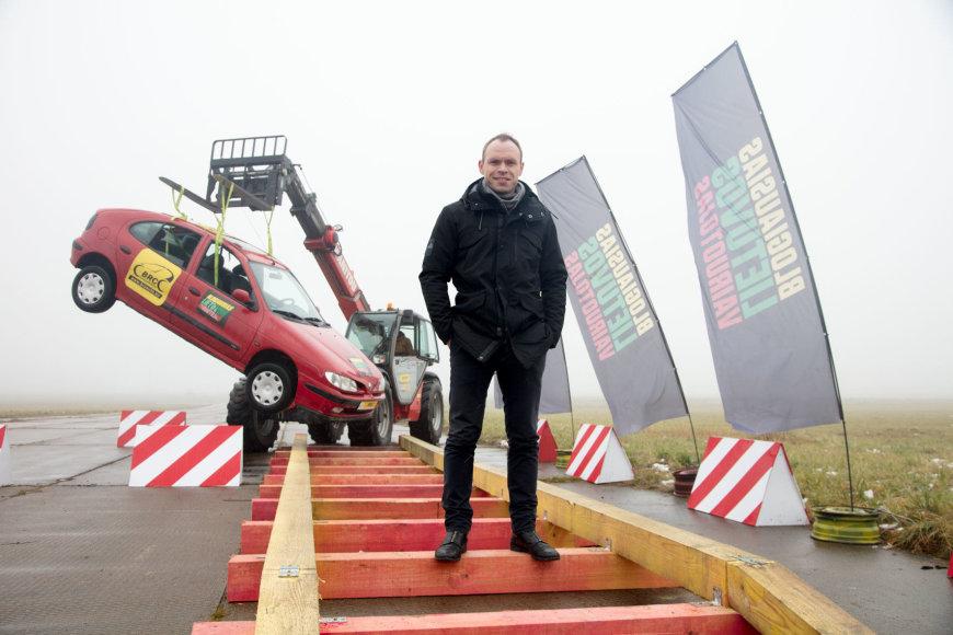 """Laidos """"Blogiausias Lietuvos vairuotojas"""" nuotr./Tomas Langvinis"""