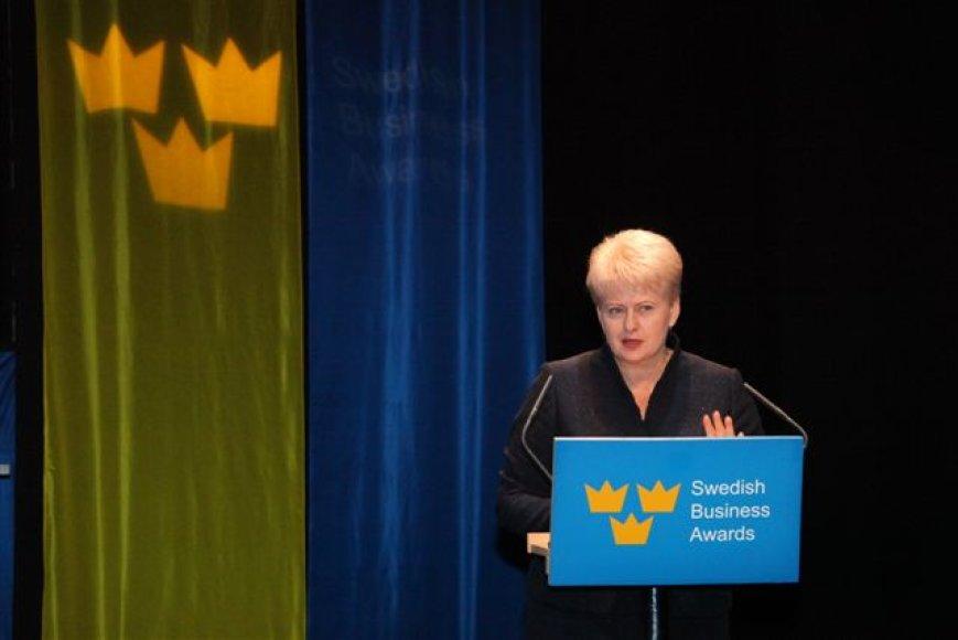Švedija apdovanojo Lietuvos verslininkus