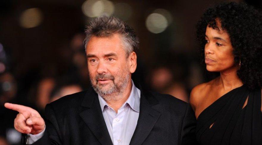 Lucas Bessonas su žmona Virginie Besson-Silla