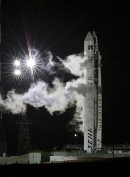 Rusija paleidžia Marso tyrimų zondą