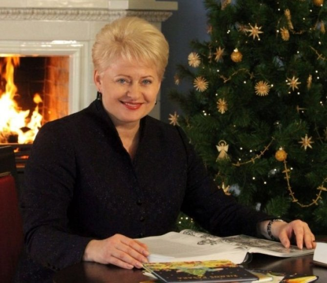 Prezidentė Dalia Grybauskaitė kviečia skaityti ir dalytis