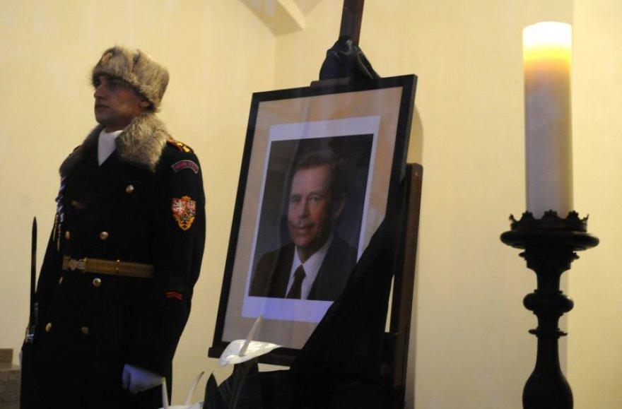 Vaclavo Havelo portretinė nuotrauka