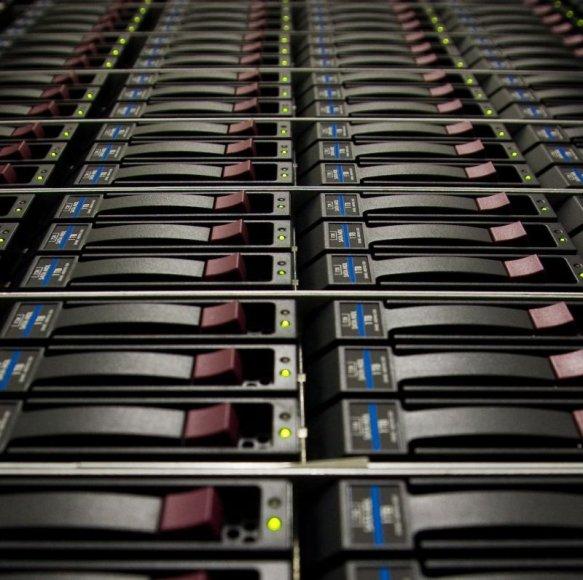 BDC duomenų centrų iranga