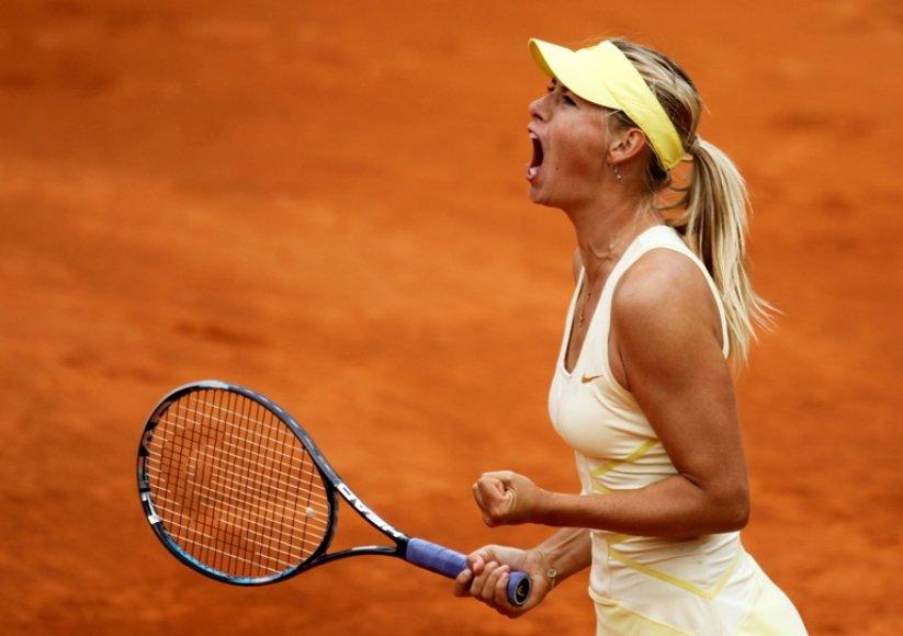 "Marija Šarapova ""French Open"" turnyre"