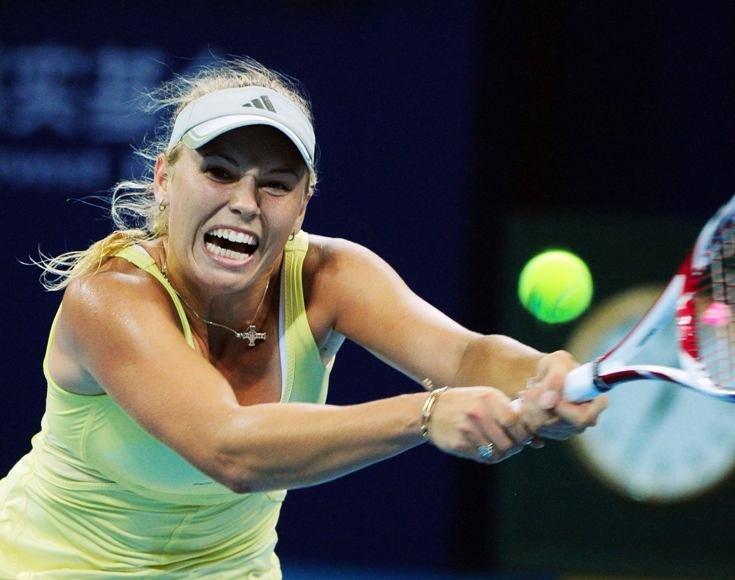"Caroline Wozniacki nepateko į ""China Open"" pusfinalį"