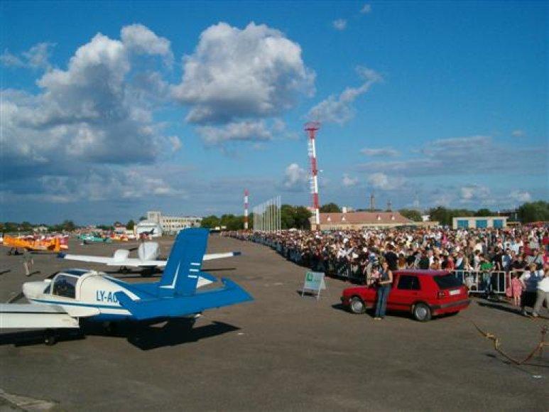 Šalia miesto centro esanti beveik 200 ha ploto S.Dariaus ir S.Girėno aerodromo teritorija vilioja verslininkus.