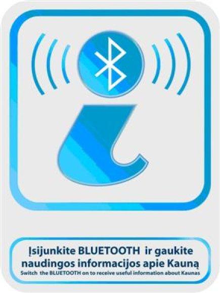 "Informacija apie Kauną ""Bluetooth"" ryšiu"
