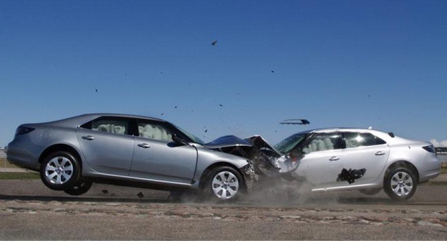 SAAB avarija