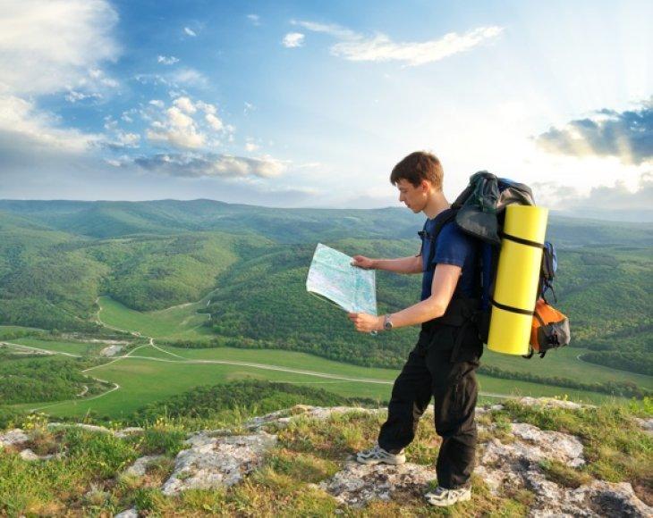 Keliaudami savarankiškai turėsite galimybę susidaryti sau tinkamą maršrutą.
